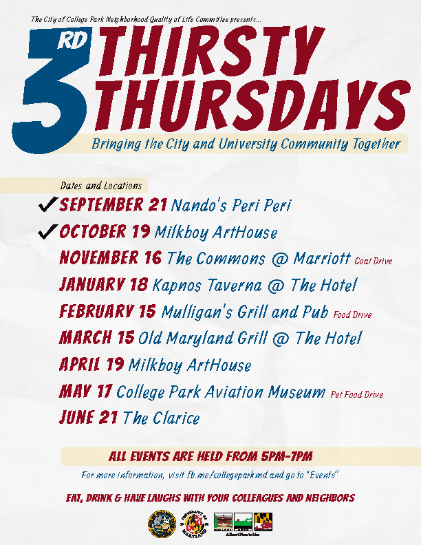 Third Thirsty Thursday Flyer