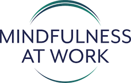 image of text mindfulness at work